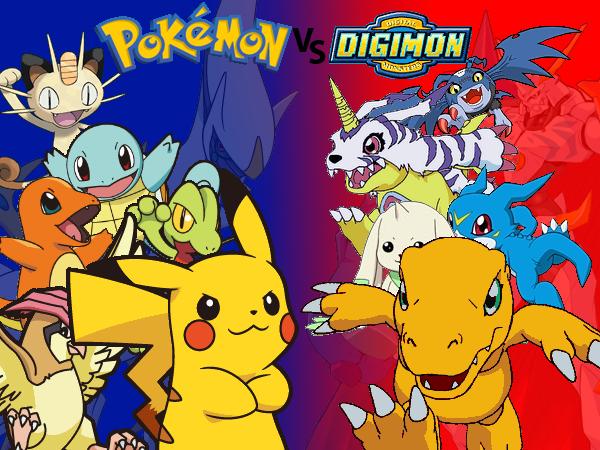 Design: Pokémon vs. Digimon